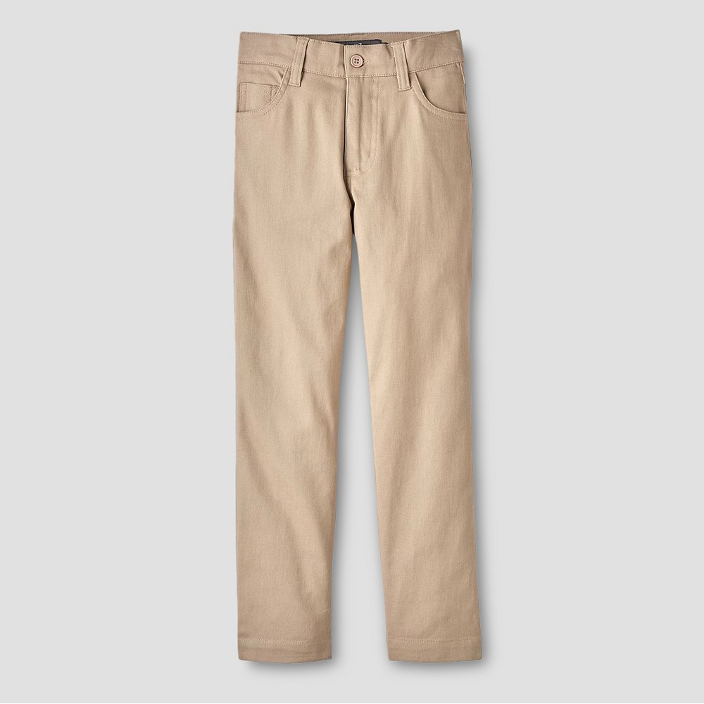 Eddie Bauer Boys' Chino Pants - Khaki 4, Beige