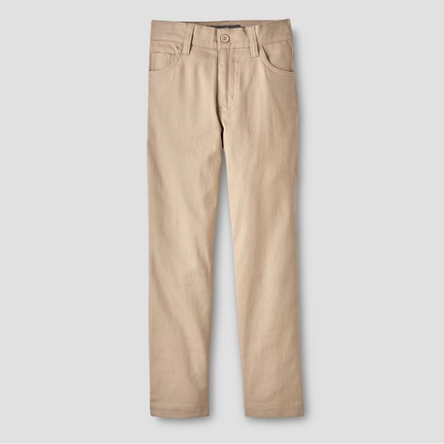 Eddie Bauer® Boys' Chino Pants - Khaki - image 1 of 2