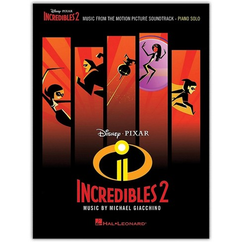 Hal Leonard Incredibles 2 (Music from the Motion Picture Soundtrack) Piano Solo Songbook - image 1 of 1