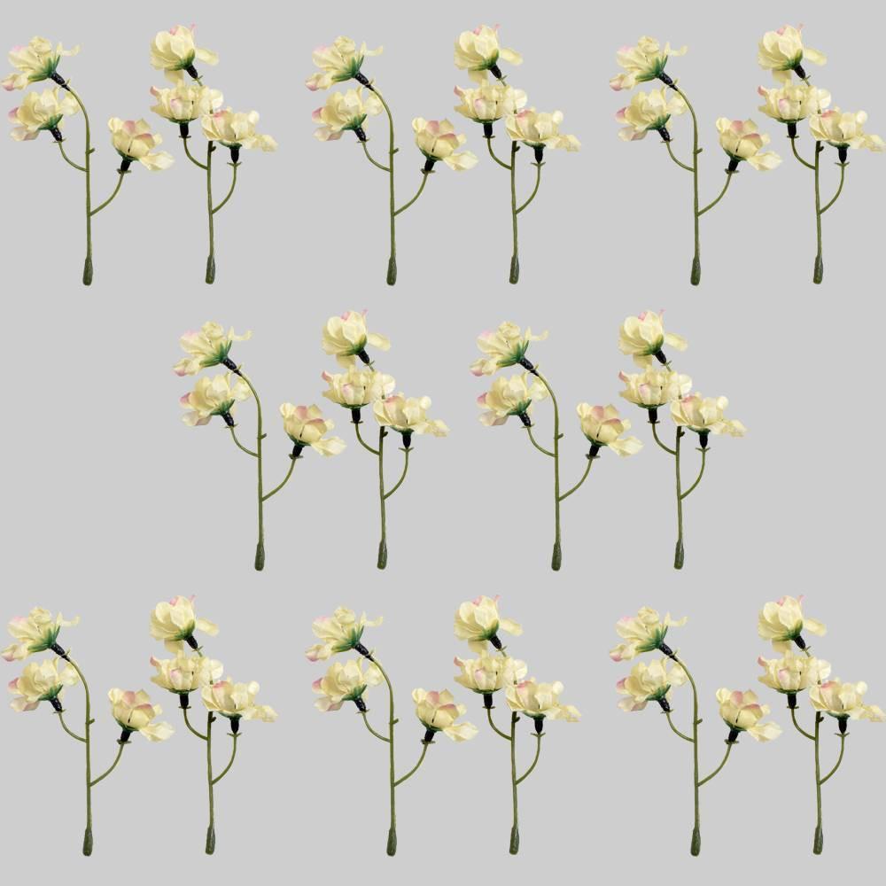16pk White Flower Sprigs - Bullseye's Playground was $8.0 now $4.0 (50.0% off)