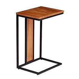 Craimer Contemporary C Table Black - Aiden Lane : Target