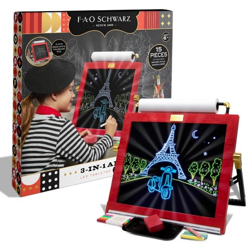 FAO Schwarz 3-in-1 Tabletop Art Easel - image 1 of 4
