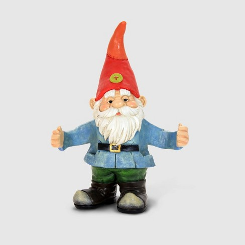 """14"""" Resin 2 Can Gnome - Exhart - image 1 of 1"""