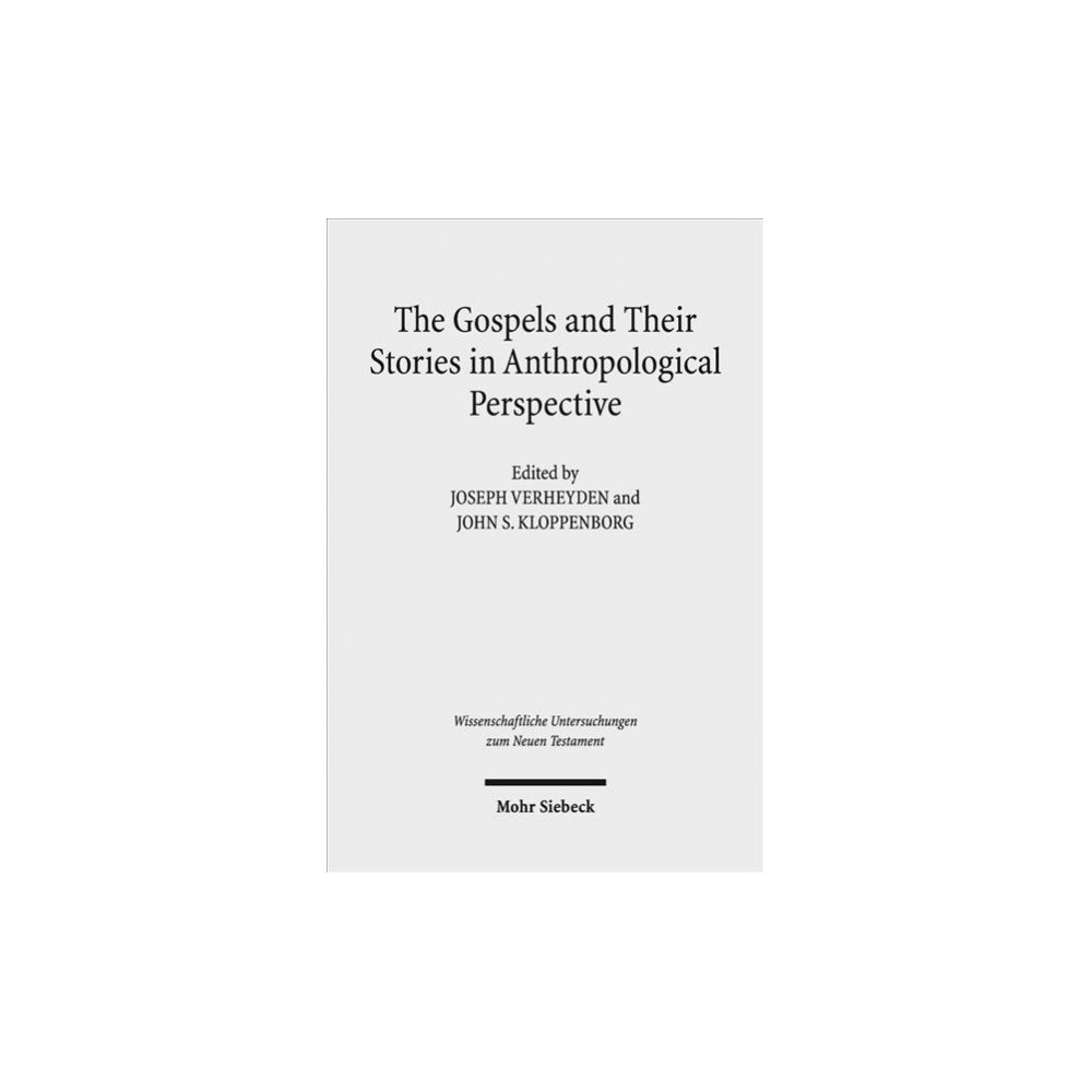 Gospels and Their Stories in Anthropological Perspective - (Hardcover)