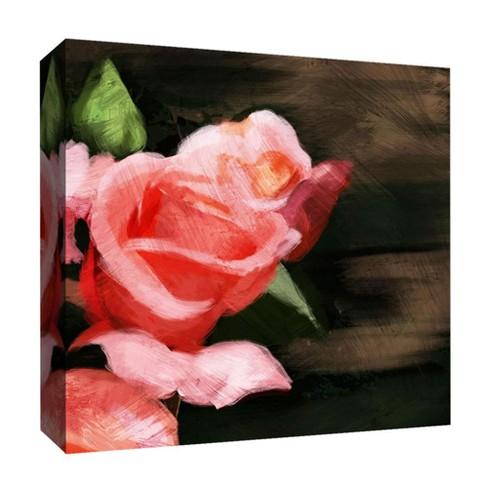 Rose Inspiration II Decorative Canvas Wall Art 16\
