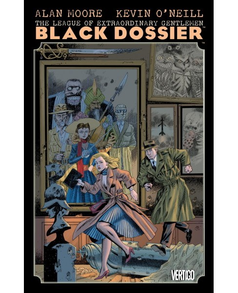League of Extraordinary Gentlemen : The Black Dossier -  by Alan Moore (Paperback) - image 1 of 1