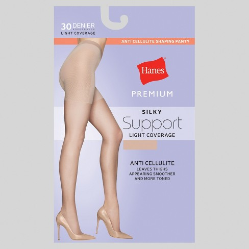 72eb8a28156f9 Hanes® Premium Women's Silky Sheer Control Top Pantyhose : Target