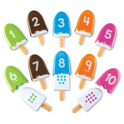 Learning Resources Smart Snacks Number Pops, Set of 10, Ages 18 mos+