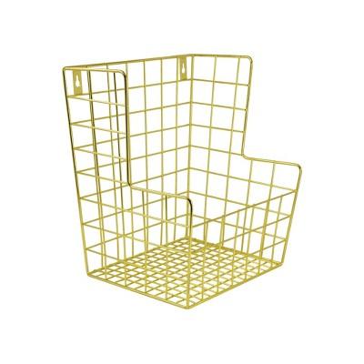 Decorative Wall Hanging Basket Gold - Pillowfort™