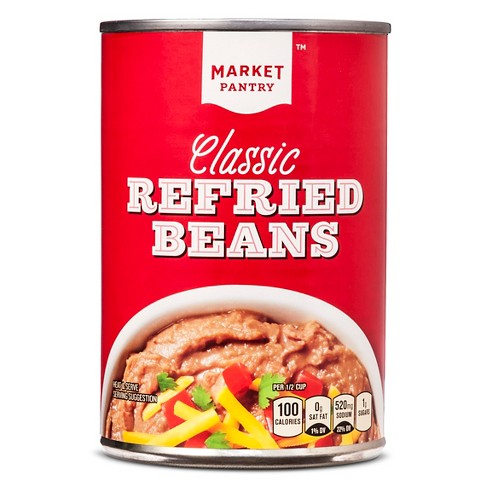 Classic Refried Beans 16oz - Market Pantry™ - image 1 of 1