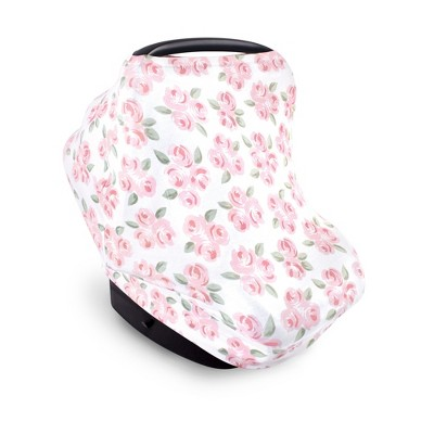 Little Treasure Baby Girl Multi-use Car Seat Canopy, Beyoutiful, One Size