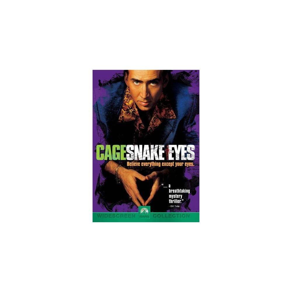 Snake Eyes Dvd