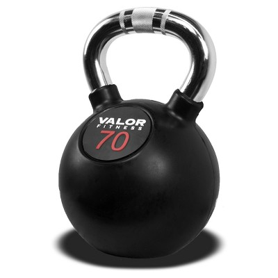 Valor Fitness CKB-70 Chrome Kettlebell - 70lb