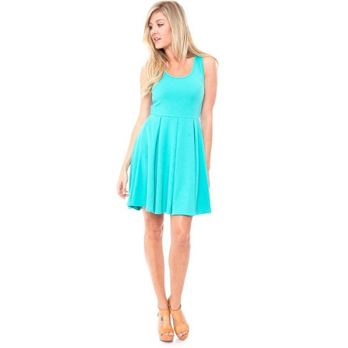 Women's Crystal Fit and Flare Dress - White Mark - image 1 of 3