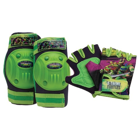 TMNT Bike Pad Set - Green - image 1 of 1