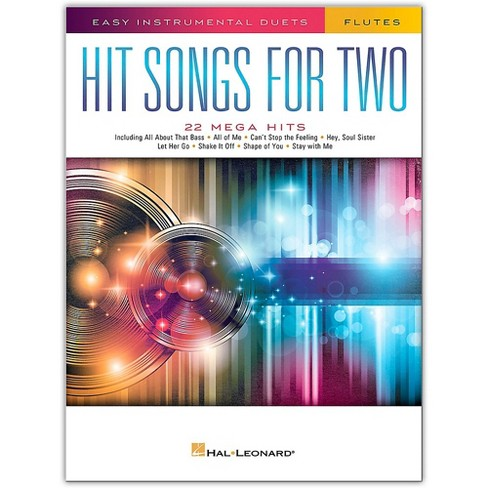 Hal Leonard Hit Songs for Two Flutes - Easy Instrumental Duets - image 1 of 1