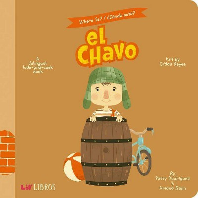 El Chavo : A Hide-and-Seek Book - BRDBK BLG by Patty Rodriguez & Ariana Stein (Hardcover)