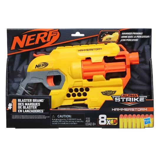 NERF Alpha Strike Hammerstorm Blaster image number null
