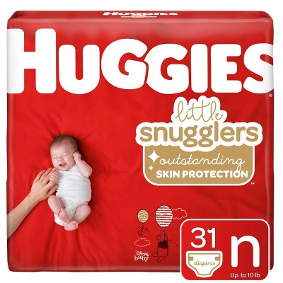 Huggies Little Snugglers Diapers - Newborn (31ct)