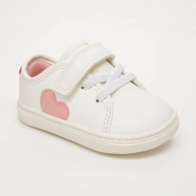 Baby Girls' Emily Sneakers - Just One You® made by carter's White