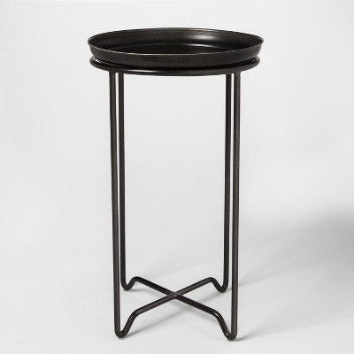 Metal Plant Stand with Galvanized Tray Medium - Smith & Hawken™