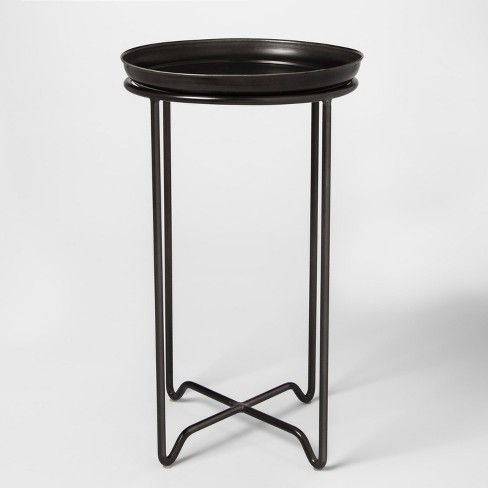 Metal Plant Stand With Galvanized Tray Medium Smith Hawken Target