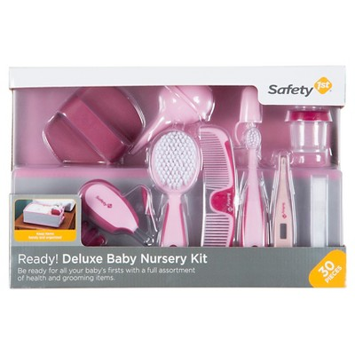 Safety 1st® Ready! Deluxe Baby Nursery Kit 30pc Pink