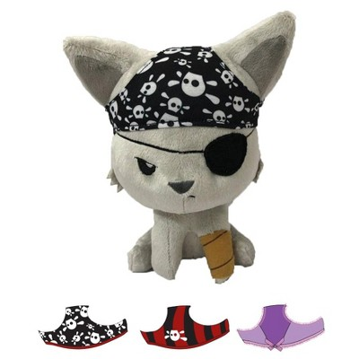Tentacle Kitty Tentacle Kitty 8 Inch Plush Animal | Bad Hat Day Pirate Kitty