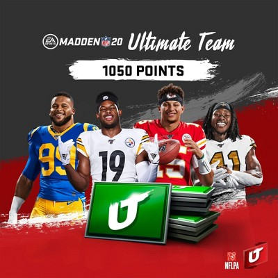 Madden NFK 20: 1050 Madden Ultimate Team Points - PlayStation 4 (Digital)