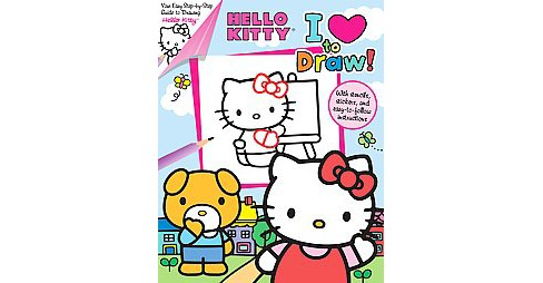 Hello Kitty : I Love to Draw! (Paperback) (Megan Bell) - image 1 of 1