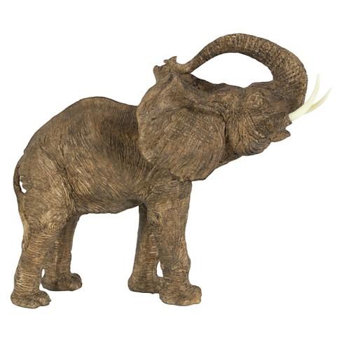 Elephant Statue - Large - A&B Home - image 1 of 4