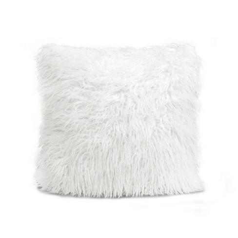 Luca Throw Pillow White - Lush Decor - image 1 of 2