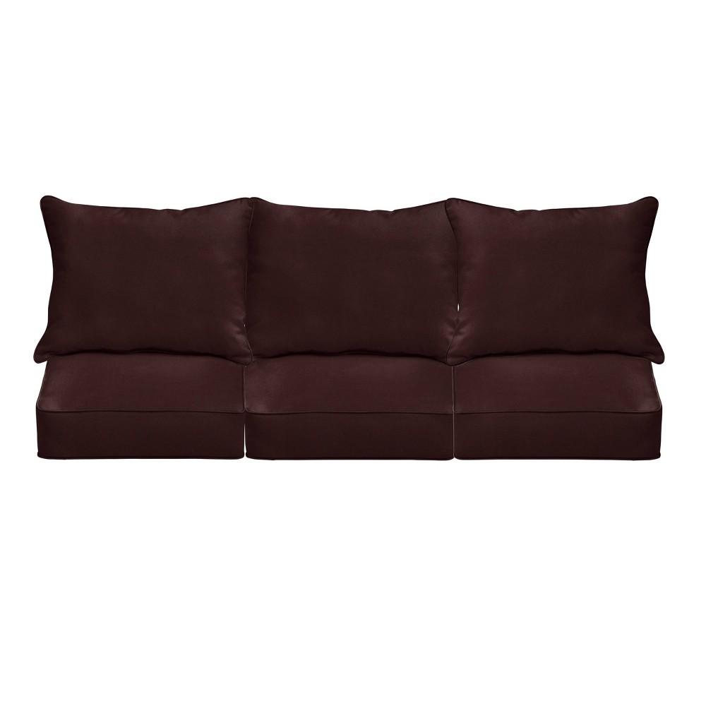 "Best 23"" Sunbrella Outdoor Deep Seat Cushion Set"