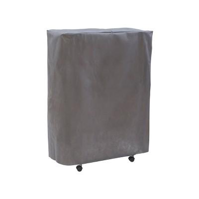 Luxor Standard Folding Bed Cover Gray - Linon
