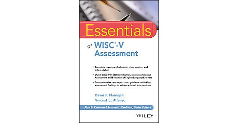 Essentials of Wisc-v Assessment (Paperback) (Dawn P. Flanagan & Vincent C. Alfonso) - image 1 of 1