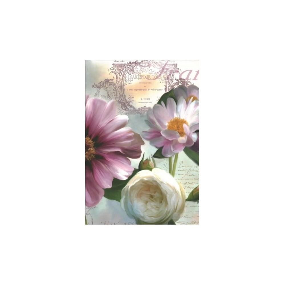 Soft Petals A5 Notebook : With Elastic Closure - (Paperback)