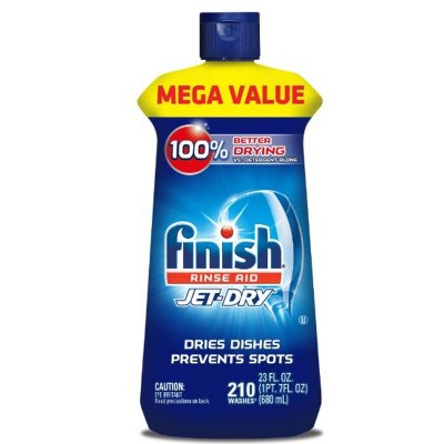 Finish Jet-Dry Rinse Aid, Dishwasher Rinse & Drying Agent - 23 fl oz