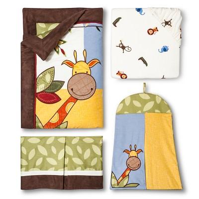 Sweet Jojo Designs 11pc Jungle Time Crib Set