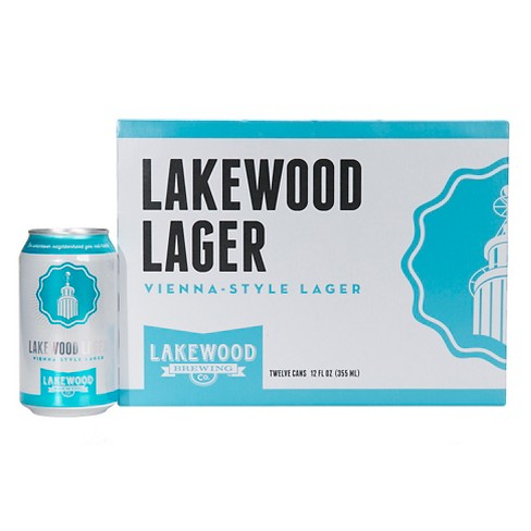 Lakewood® Vienna-Style Lager - 12pk / 12oz Cans - image 1 of 1