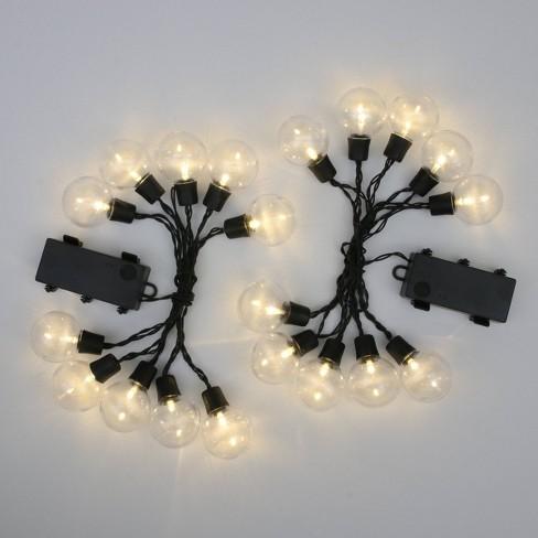 2ct Outdoor Hanging LED Lights Black - Bullseye's Playground™ - image 1 of 4