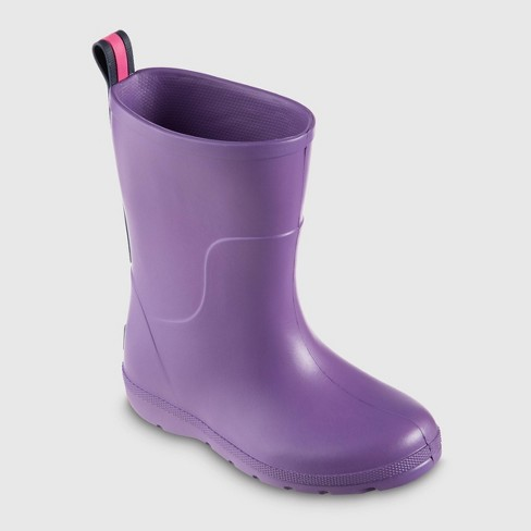 Toddler Totes Charley Rainboots - Purple - image 1 of 4