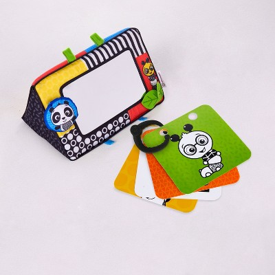 Baby Einstein Black White and Bright Floor Mirror