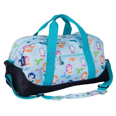 WildKin Olive Kids' Duffel Bag - Mermaids