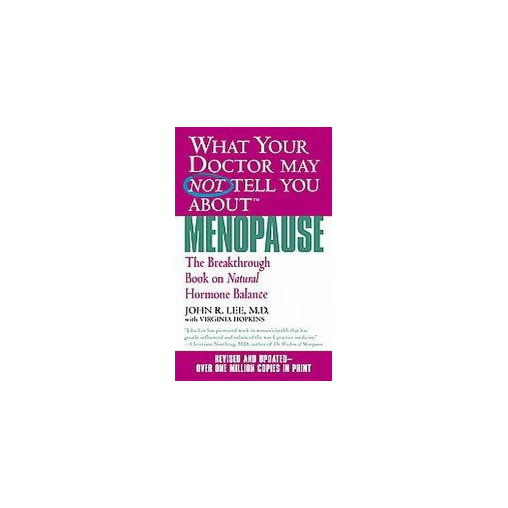 What Your Doctor May Not Tell You About Menopause : The Breakthrough Book on Natural Hormone Balance