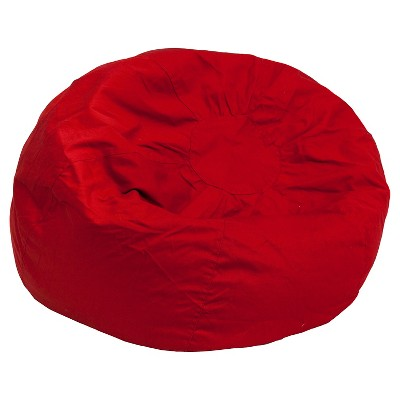 target bean bag chairs Oversized Cotton Bean Bag Chair   Belnick : Target target bean bag chairs