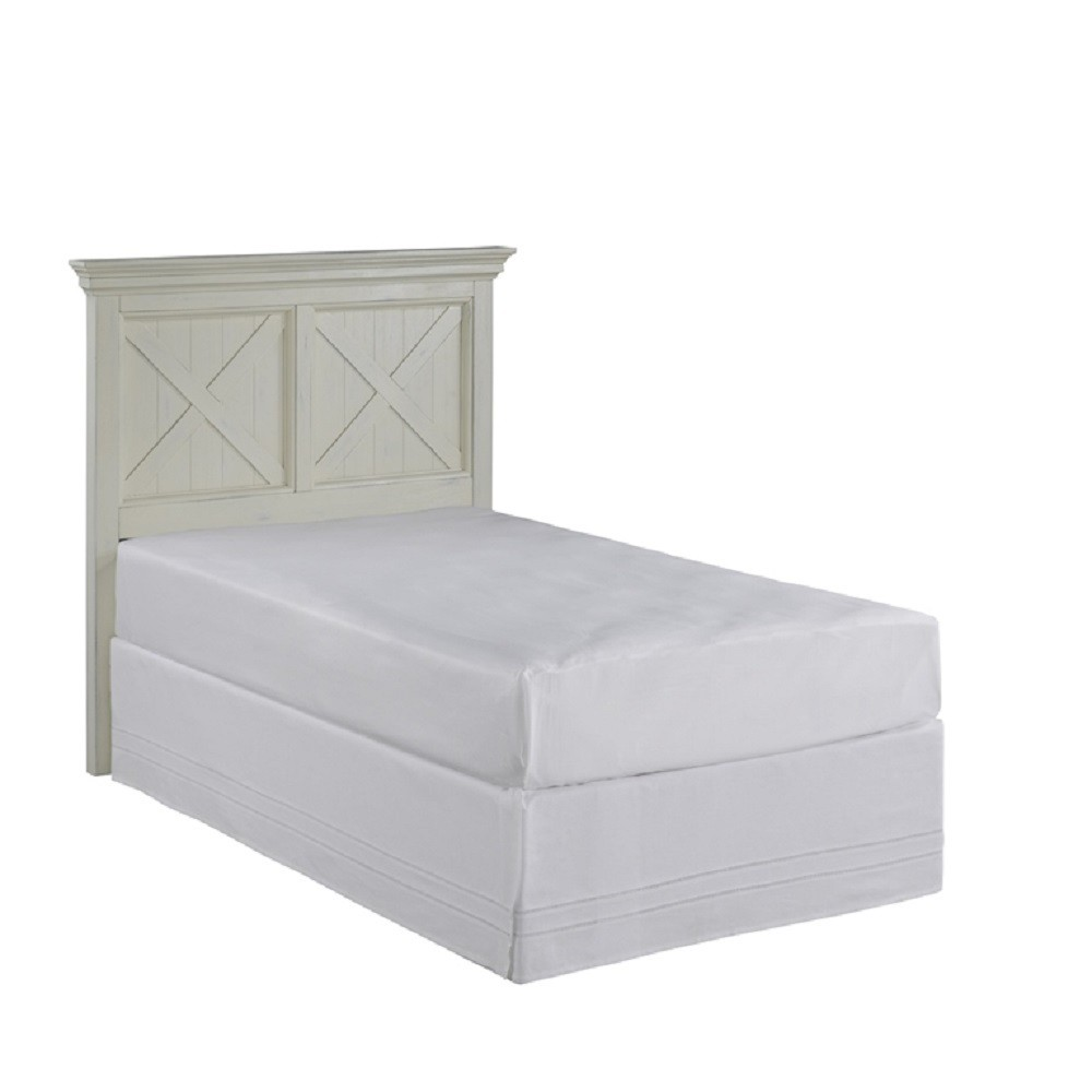 Twin Adult Headboard - White - Home Styles