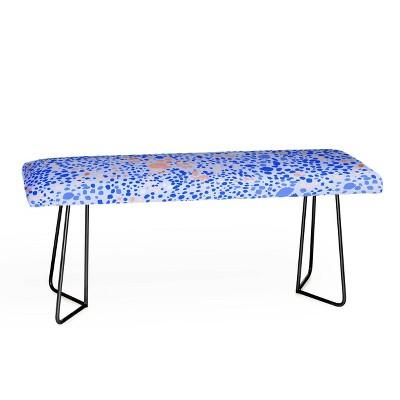 83 Oranges Leopard Bench - Deny Designs
