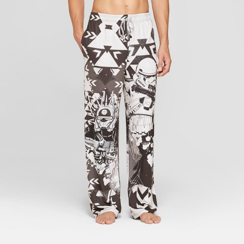 Men's Star Wars Novelty Pajama Pants - Black/White - image 1 of 2
