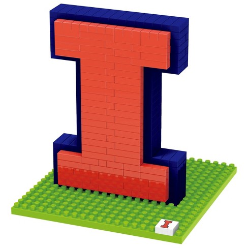 NCAA Illinois Fighting Illini 3D BRXLZ Mascot Puzzle 1000pc - image 1 of 1