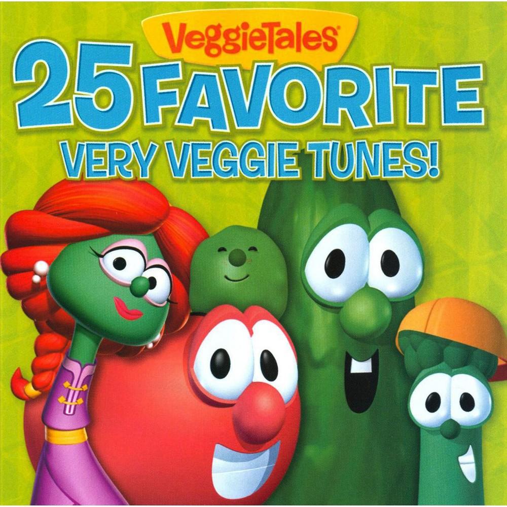 Veggie Tales - 25 Favorite Very Veggie Tunes (CD)
